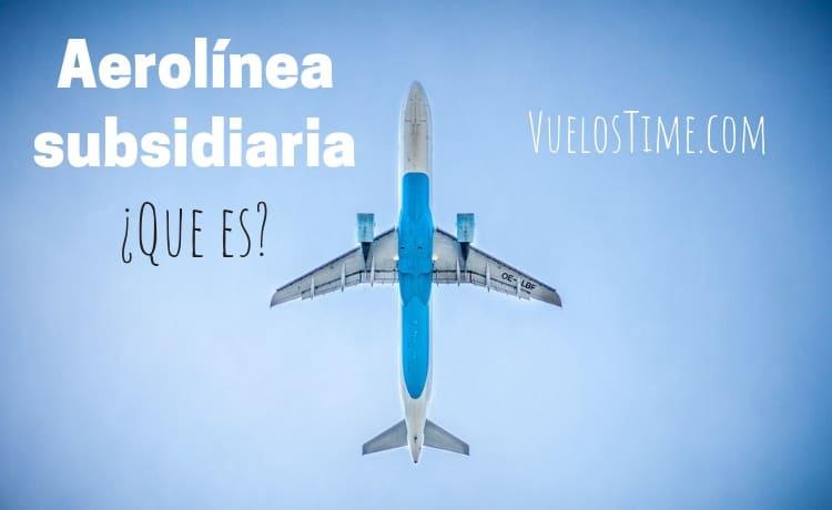 aerolinea subsidiaria