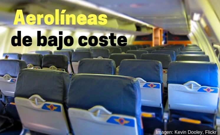 aerolineas de bajo costo low cost