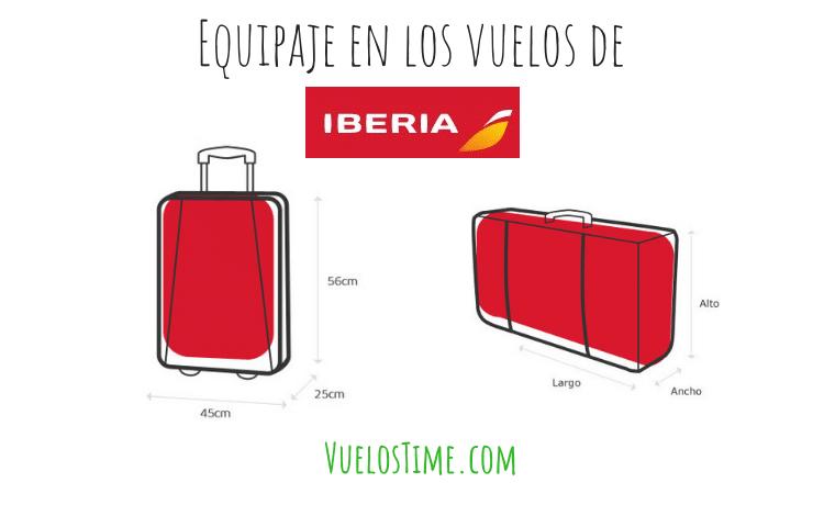 Equipaje en Iberia – Las cosas básicas que debes saber