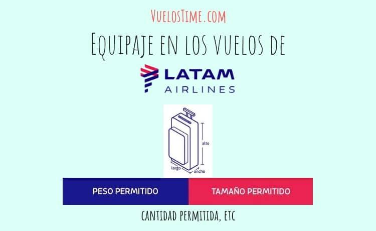 Equipaje en LATAM Airlines – Las cosas básicas que debes saber