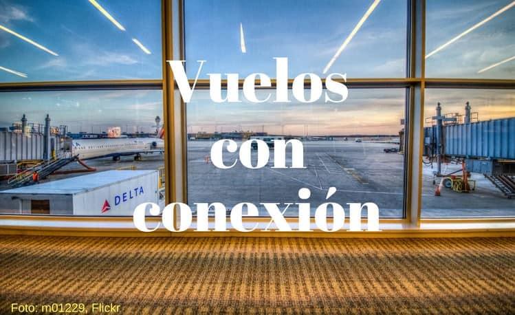 vuelos con conexion que son